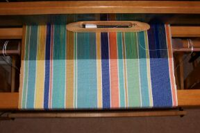 Tablecloth on Loom