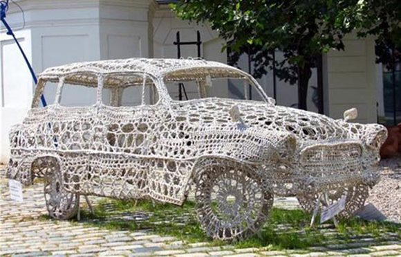 Knitted Car