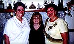 This was a picture taken in Florida of Barb Efflandt, Sue Sommerville and Joan Petty. All three are really good stamping friends and love to spend time with each other exchanging ideas and learning ne