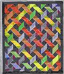 A quilt design I did sometime during the 80's and just bought fabric for this week.  LynnWoven RibbonsLynn Blake