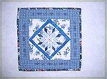 "10"" square mini made for the Dallas Quilt Celebration coming up in March."