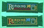 More bookmarks submitted by Valerie Vann in our 2004 Beverly Marchetti Memorial Bookmarks for Literacy Swap.  Counted cross stitch in Valerie's own design.