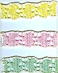 Becky's bookmarks were crocheted.  From our 2007 Beverly Marchetti Bookmarks for Literacy Swap.