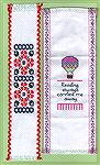 Bookmarks donated by Jackie Carey. The hot air ballon bookmark is from Quick As A Wink Fun Bookmarks.