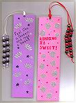 These bookmarks were designed and created by Patricia Tenpenny.