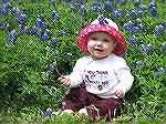 Obligatory photo of my granddaughter amongst the bluebonnets during her visit to Texas in April