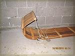 This is the completed toboggan that I built a few years ago.