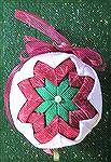 This is a no sew Christmas Ornament made by Colleen Poor.